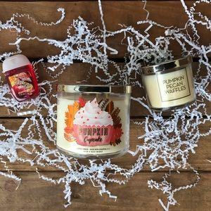 Bath & Body Works Fall Candle Bundle